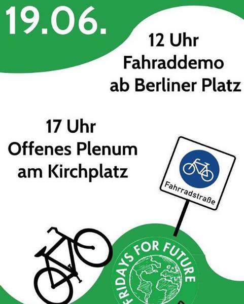 Fridays For Future Giessen Demo Plakat Klimaaktionstage 2020
